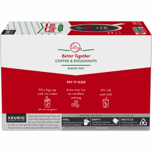 Krispy Kreme Classic Medium Roast Coffee K-Cup Pods Perspective: left