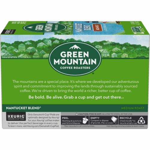 Green Mountain Nantucket Blend Medium Roast Coffee K-Cup Pods Perspective: left
