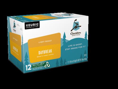 Caribou Coffee® Daybreak Light Roast Coffee K-Cup Pods Perspective: left