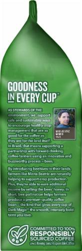 Green Mountain Coffee Dark Magic Espresso Blend Whole Bean Coffee Perspective: left