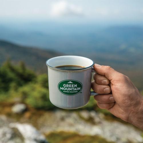 Green Mountain Coffee Caramel Vanilla Cream Flavored Ground Coffee Perspective: left