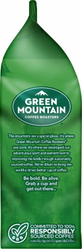 Green Mountain Coffee Decaf Breakfast Blend Light Roast Ground Coffee Perspective: left