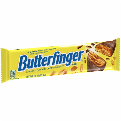Butterfinger Candy Bar Perspective: left