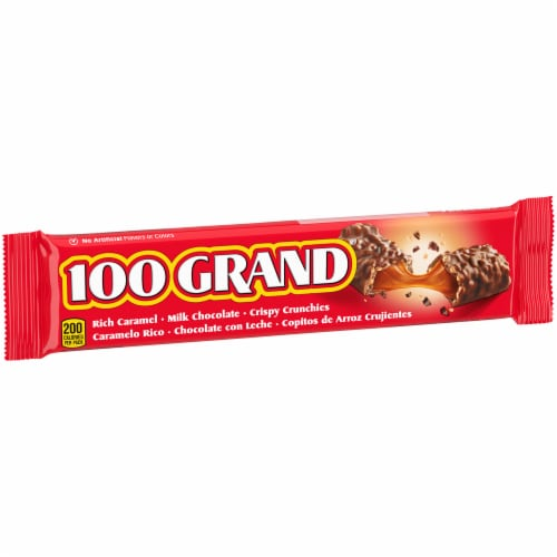 100 Grand Candy Bar Perspective: left