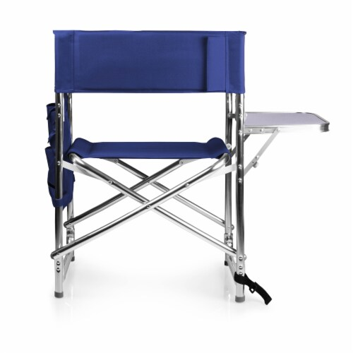 Sports Chair, Navy Blue Perspective: left