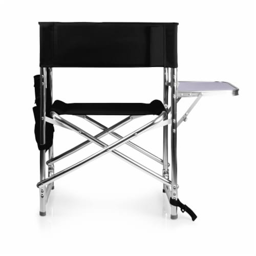 Sports Chair, Black Perspective: left