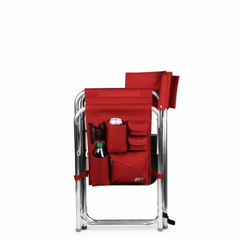 Sports Chair, Red Perspective: left