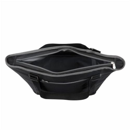 Topanga Cooler Tote Bag, Black Perspective: left