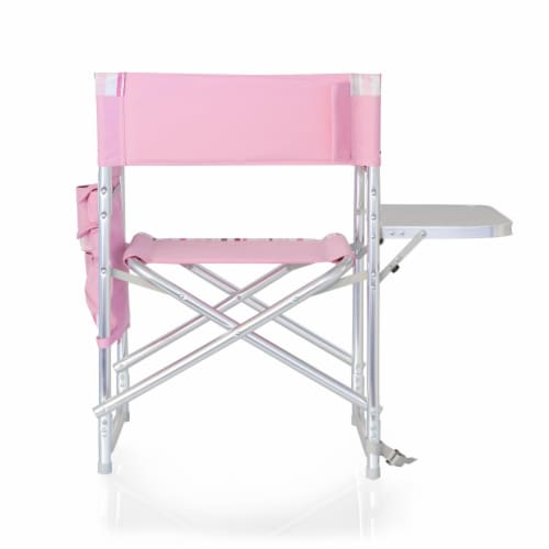 Sports Chair, Pink Stripe Perspective: left