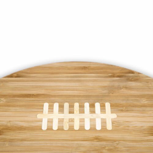 Green Bay Packers Touchdown! Football Cutting Board & Serving Tray Perspective: left