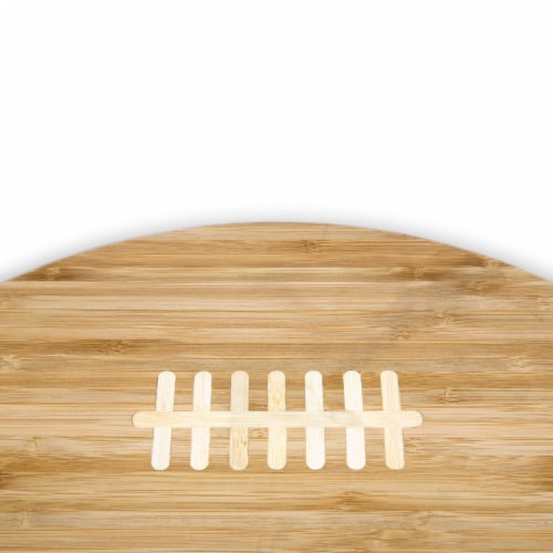Oakland Raiders Touchdown! Football Cutting Board & Serving Tray Perspective: left
