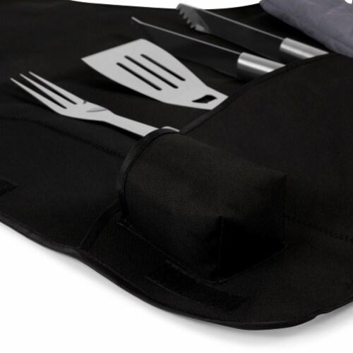 Auburn Tigers - BBQ Apron Tote Pro Grill Set Perspective: left
