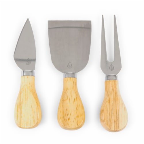 Ole Miss Rebels - Brie Cheese Cutting Board & Tools Set Perspective: left