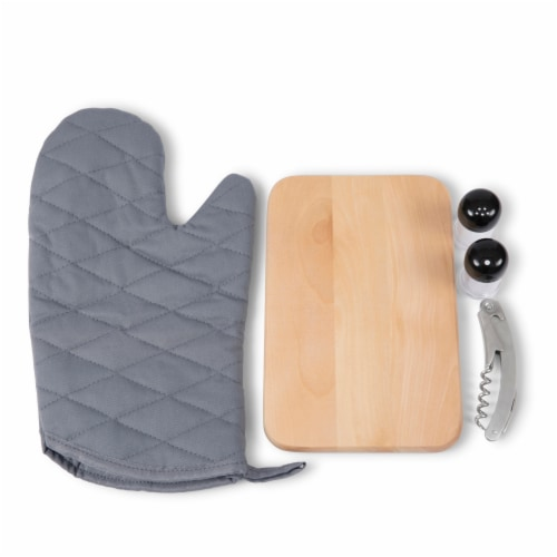 Cal Bears - BBQ Kit Grill Set & Cooler Perspective: left