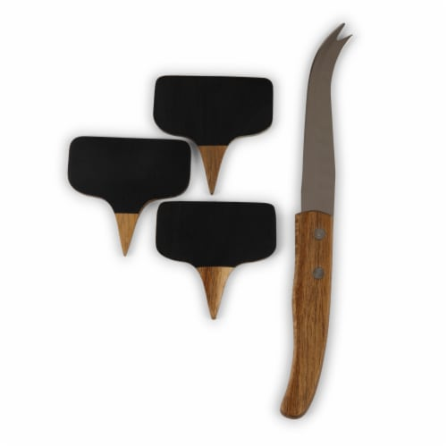 Purdue Boilermakers - Delio Acacia Cheese Cutting Board & Tools Set Perspective: left