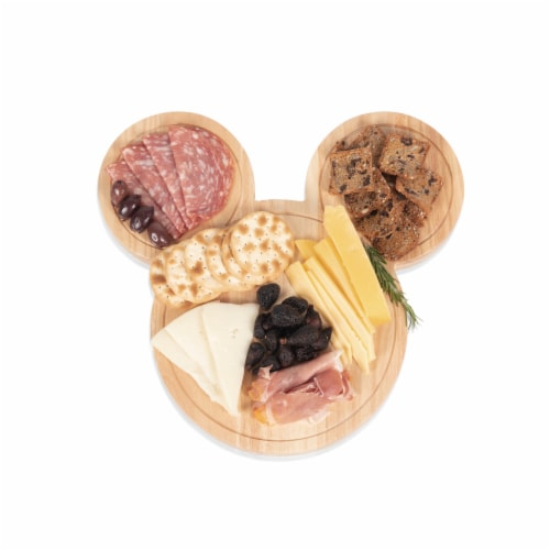 Toscana Mickey Head Shaped Cheese Board Perspective: left