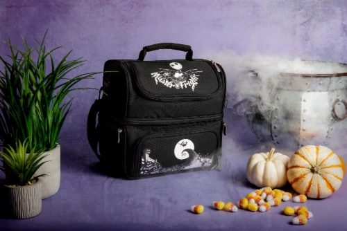 Disney Nightmare Before Christmas Jack - Pranzo Lunch Cooler Bag, Black Perspective: left