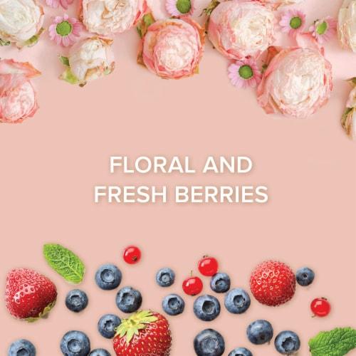 Menage a Trois Rose Wine 750mL Wine Bottle Perspective: left