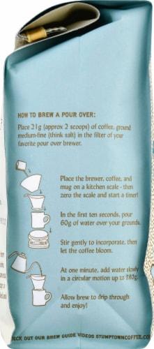 Stumptown Colombia Single Origin Whole Bean Coffee Perspective: left