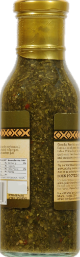 Gaucho Ranch Chimichurri Caribbean Dipping Sauce Perspective: left