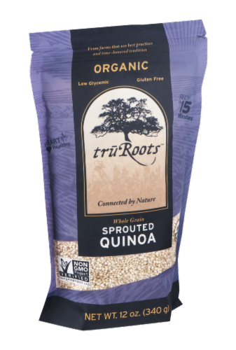 truRoots Organic Whole Grain Sprouted Quinoa Perspective: left