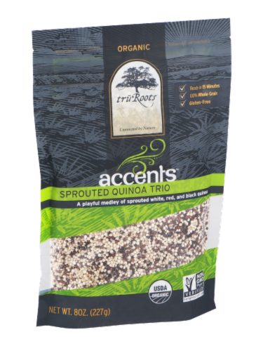 truRoots Accents Organic Sprouted Quinoa Trio Perspective: left