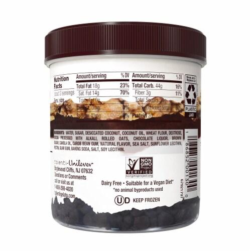 Talenti Non-Dairy Sorbetto Layers Coconut Chocolate Cookie Ice Cream Perspective: left