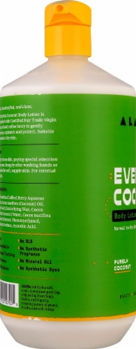 Alaffia Everyday Coconut Body Lotion Perspective: left