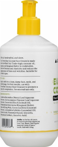 Alaffia Everyday Coconut Night Face Cream Perspective: left