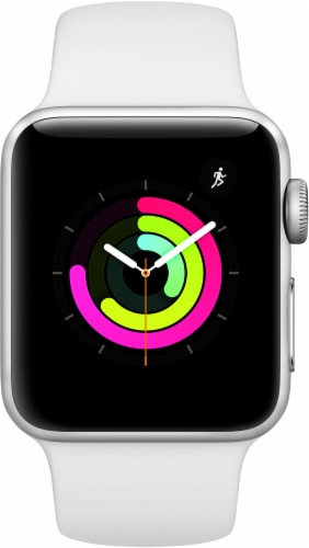 Apple Watch Series 3 - White Perspective: left