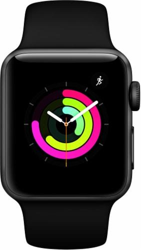 Apple Watch Series 3 - Black Perspective: left