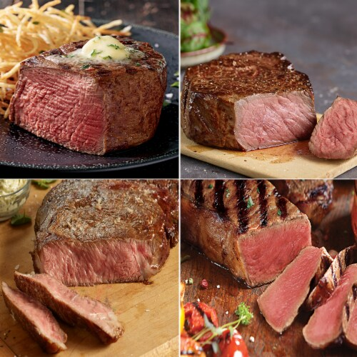Kansas City Steaks Essential Duo Jr (Approximate Delivery 3-8 Days) Perspective: left
