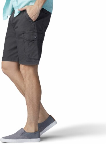 Lee Men's Extreme Motion Swope Cargo Shorts - Shadow Perspective: left