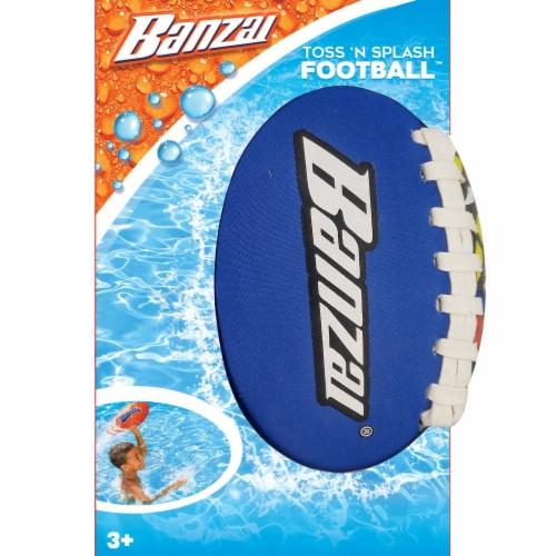 Banzai Toss 'n Splash Football - Assorted Perspective: left