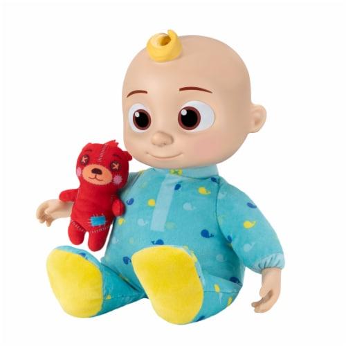Cocomelon Roto Plush Bedtime JJ Doll Perspective: left