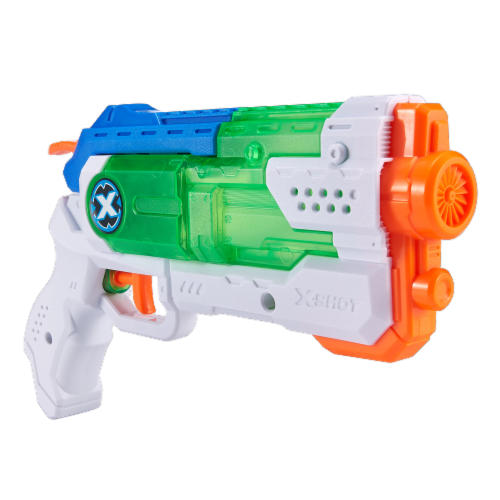 ZURU X-Shot Micro Fast-Fill Water Blaster Perspective: left