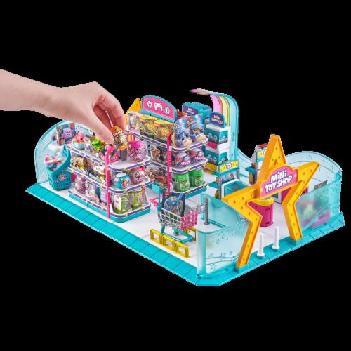 Zuru 5 Surprise Mini Brands Series 1 Toy Shop Playset Perspective: left