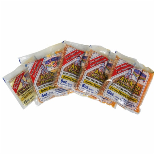 Great Northern Popcorn 1 Case (24) of 6 Ounce Popcorn Portion Packs Kit Cinema Perspective: left