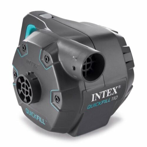 Intex Quick Fill 120 Volt AC Electric 38.9 CFM Inflatable Pump (2 Pack) Perspective: left
