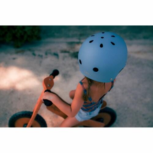 Kinderfeets Slate Blue Toddler Kids Helmet Bundle with Balance Bike Tricycle Perspective: left