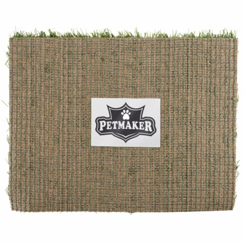Replacement Grass Mats- Set of 3 Turf Pads for Puppy Potty Trainer Fake Grass is 18.5 x 14 Perspective: left