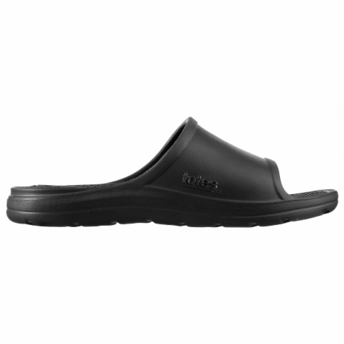 Totes Men's Ara Sport Slide - Black Perspective: left