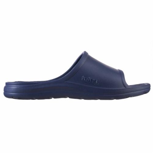 Totes Men's Ara Sport Slide - Navy Blue Perspective: left