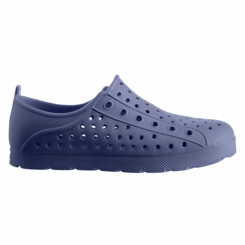 Totes Kids Eyelet Sneakers - Navy Blue Perspective: left