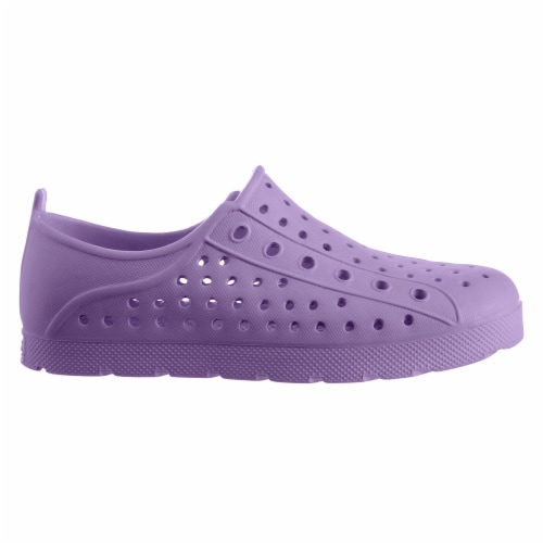 Totes Kid's Eyelet Sneaker - Paisley Purple Perspective: left