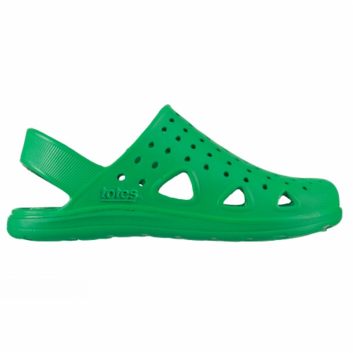 Totes Kid's Splash & Play Clogs - Green Perspective: left