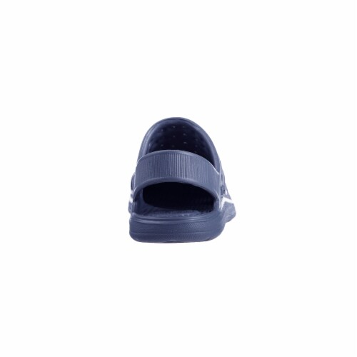Totes Kids Splash and Play Clog - Navy Blue Perspective: left