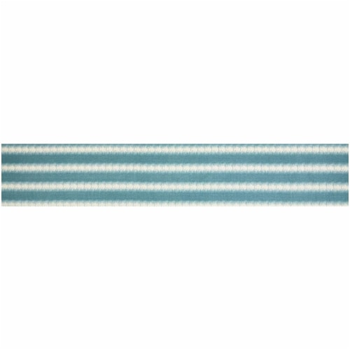 Striped Dining Table Runner and Placemats, Set of 6 (7 Pieces) Perspective: left