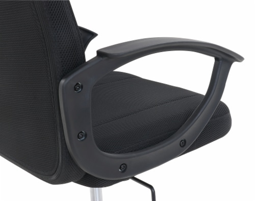 Living Style Ansel Office Chair - Black Perspective: left
