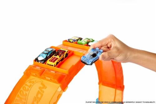 Hot Wheels® Massive Loop Mayhem Playset Perspective: left